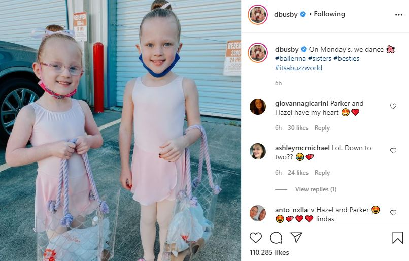 Ballerina Parker Busby Shows No Signs Of Anxiety