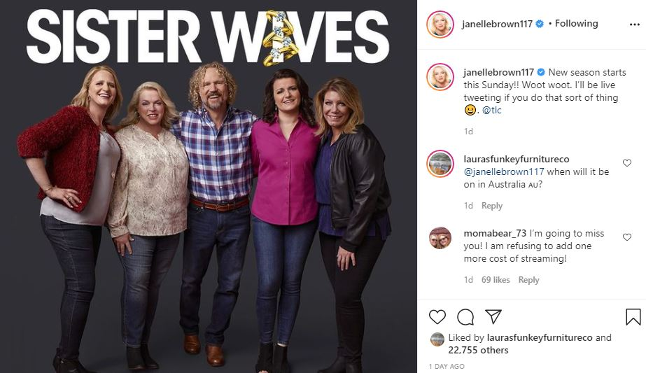 Janelle Brown Discusses Watching Sister Wives and Live Tweeting