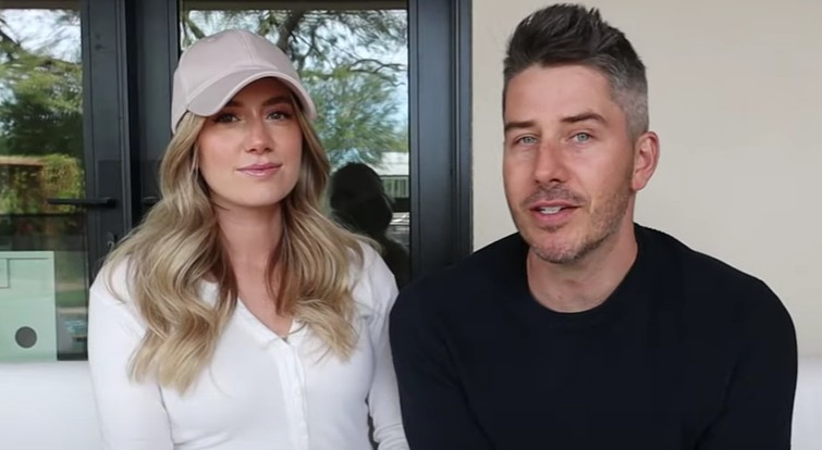Lauren Burnham and Arie Luyendyk Jr. via YouTube
