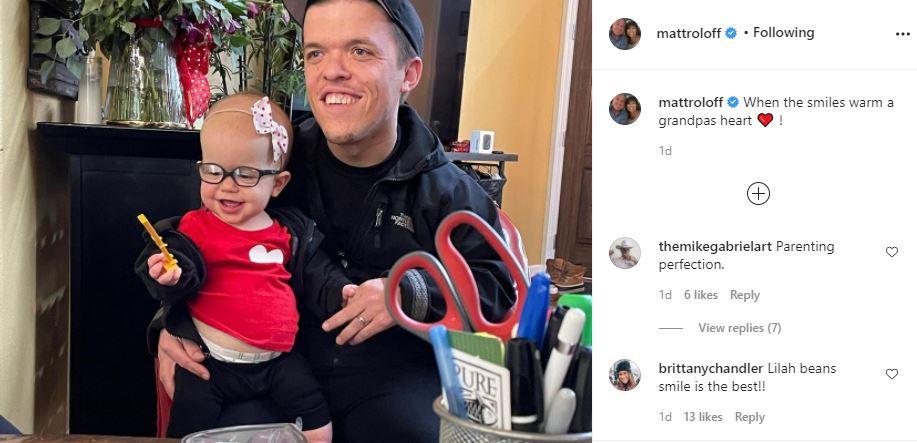 Lilah Roloff Melts Grandpa Matt Heart