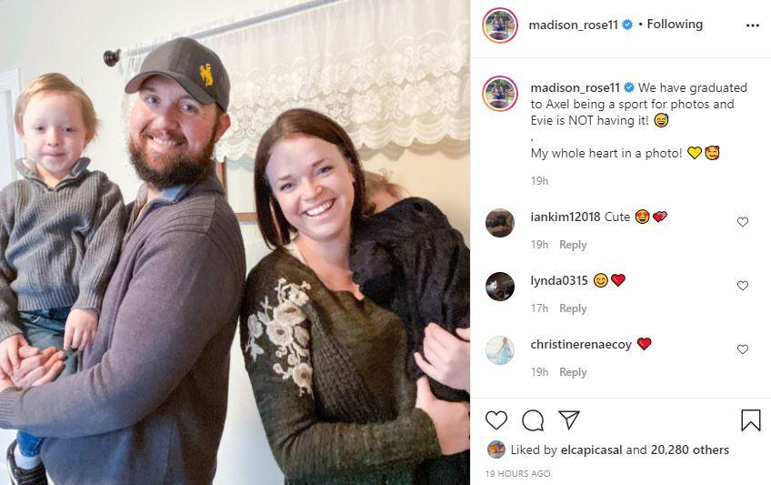Maddie Brown Daughter Evie Hates Cameras