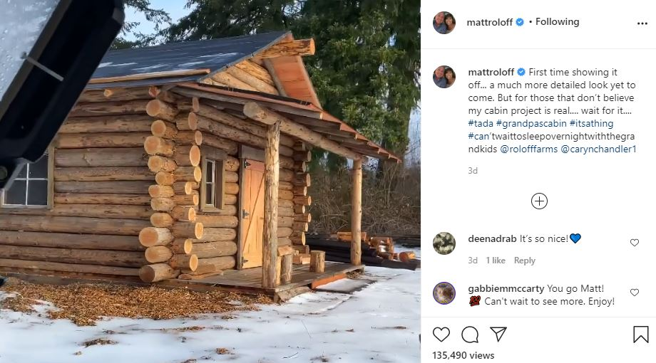 Matt Roloff Reveals His Cabin In The Woods