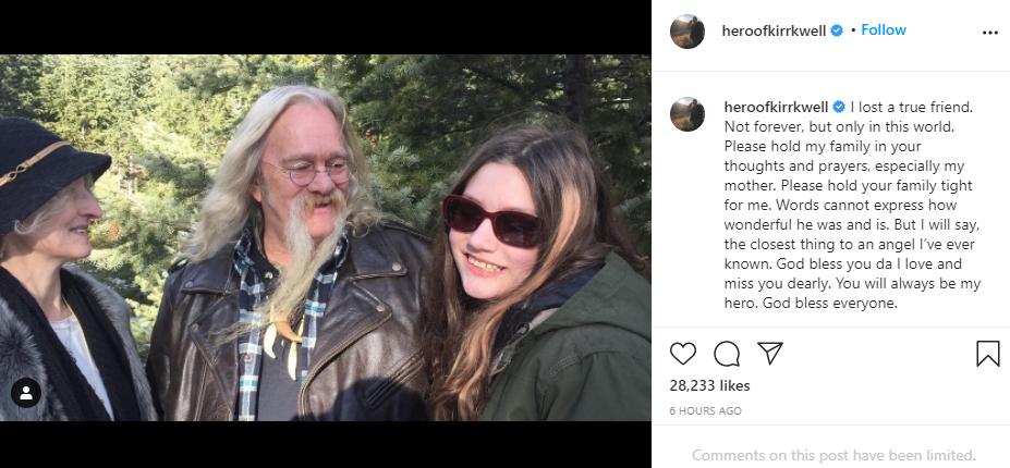 Rain Brown Instagram Post