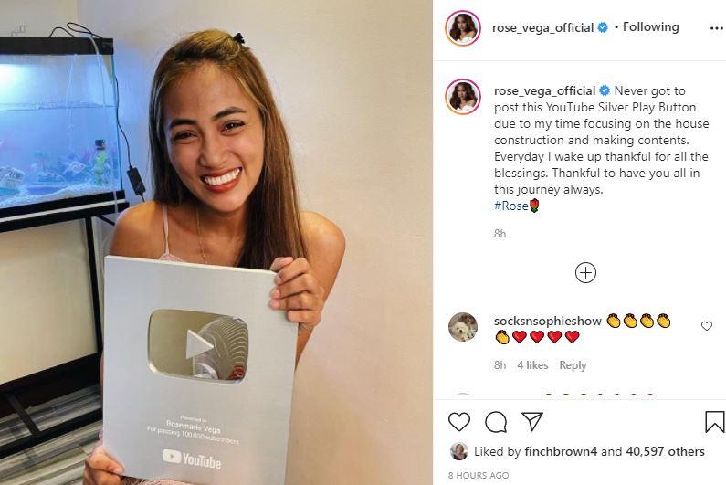Rose Vega Special Award Reveal