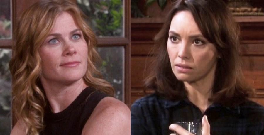 Sami Brady (Alison Sweeney) - Gwen Rizczech (Emily O'Brien) - NBC