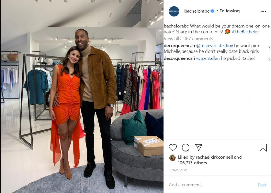 The Bachelor Instagram