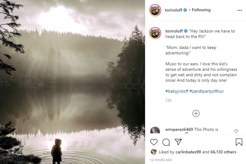 Tori Roloff Blows Fans Away With Magical Photo