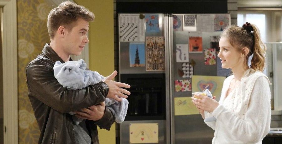 Tripp Dalton (Lucas Adams) - Allie Horton (Lindsay Arnold) - NBC