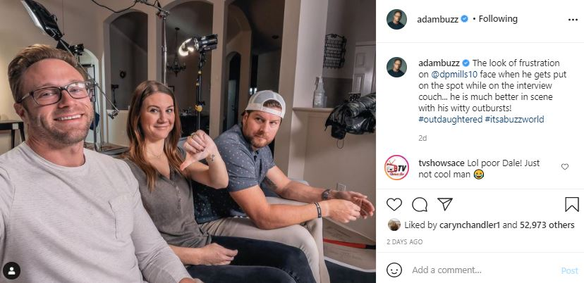 Uncle Dale - Adam Busby - Danielle - OutDaughtered