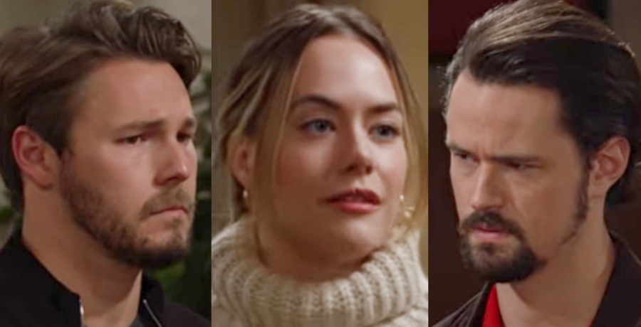 bold and the beautiful: Liam Spencer Hope Logan Thomas Forrester