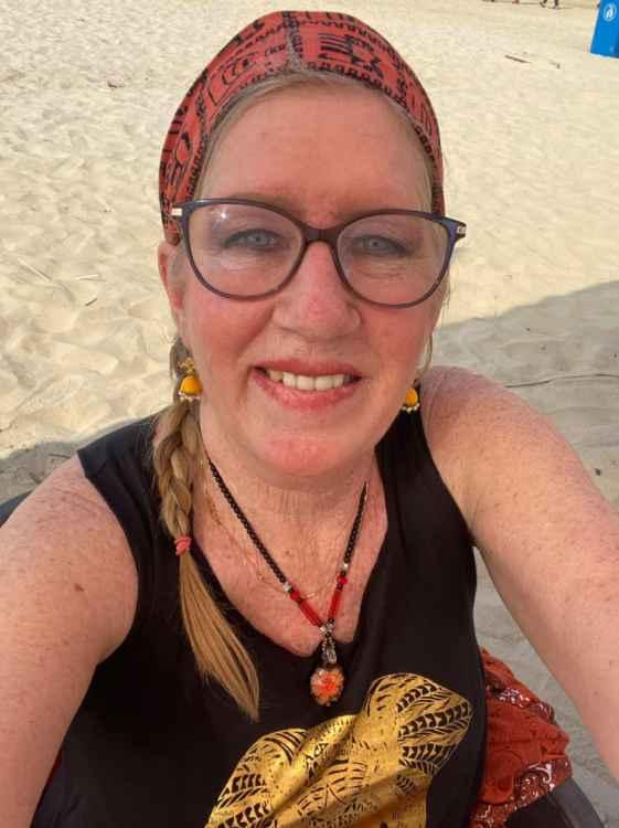 90 Day Fiance star Jenny Slatten in Goa