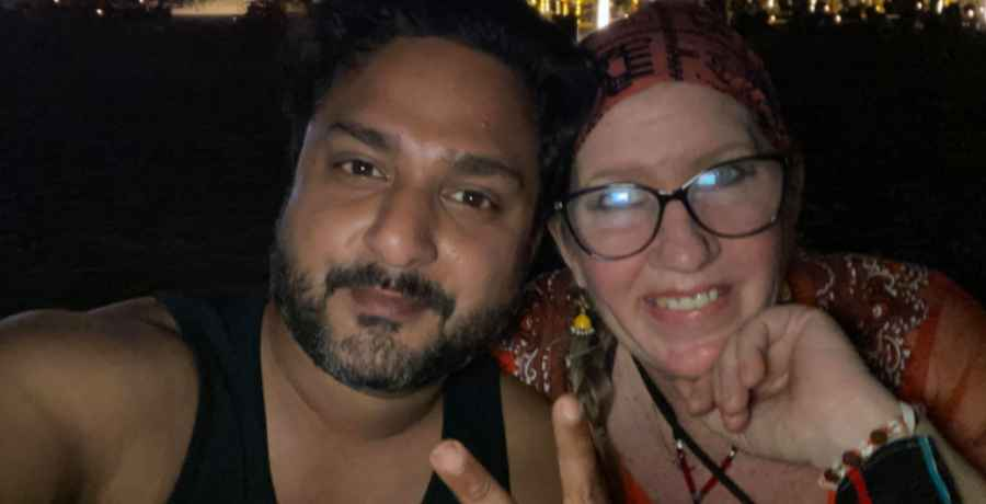 90 Day Fiance stars Sumit Singh and Jenny Slatten in Goa