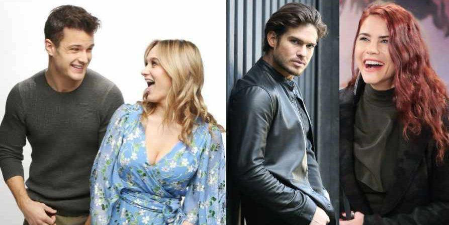 Drama with Kyle, Summer, Theo and Sally on The Young and the Restless