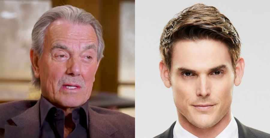 Victor and Adam on The Young and the Restless