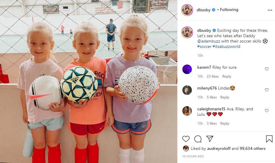 Adam & Danielle Busby quints soccer