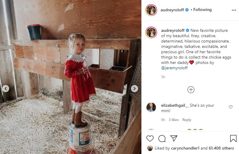 Audrey Roloff Gushes Over Her Precious Daughter Ember