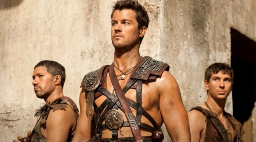 Dan Feurriegel in Spartacus