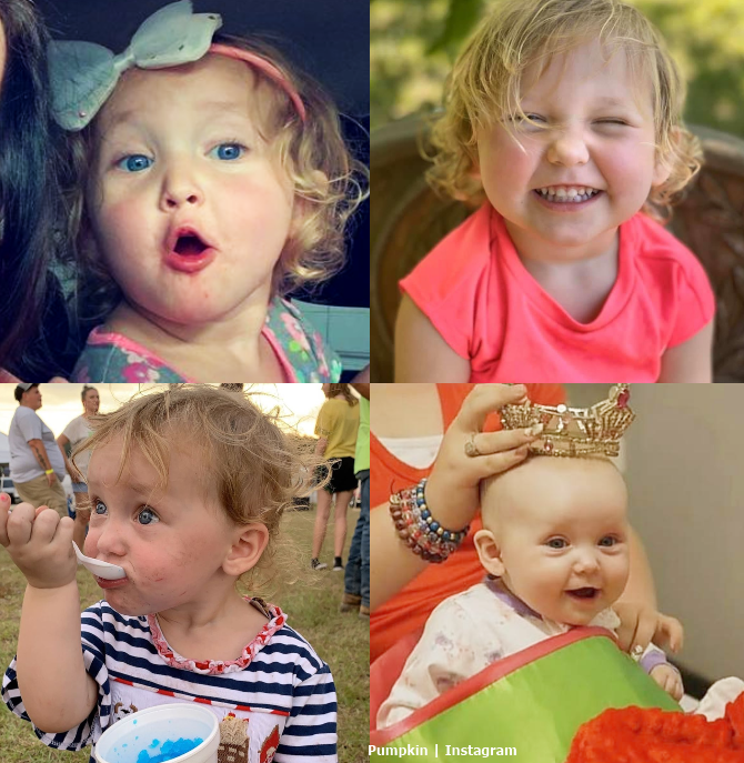 Ella Grace Pumpkin Efird daughter Age