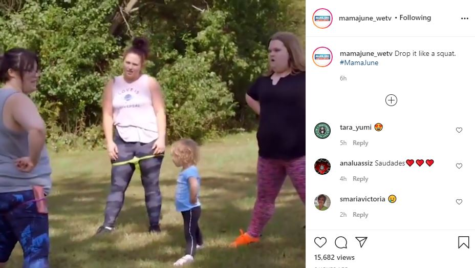 Honey Boo Boo Weight Loss Efforts Cheered On By Ella Grace