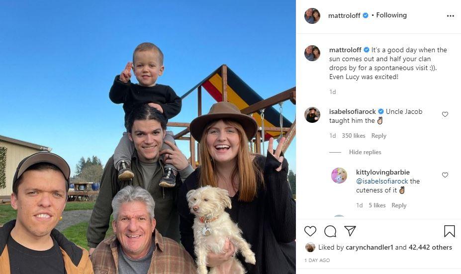 Jacob Roloff & Isabel Rock Put A Smile On Matt's Face