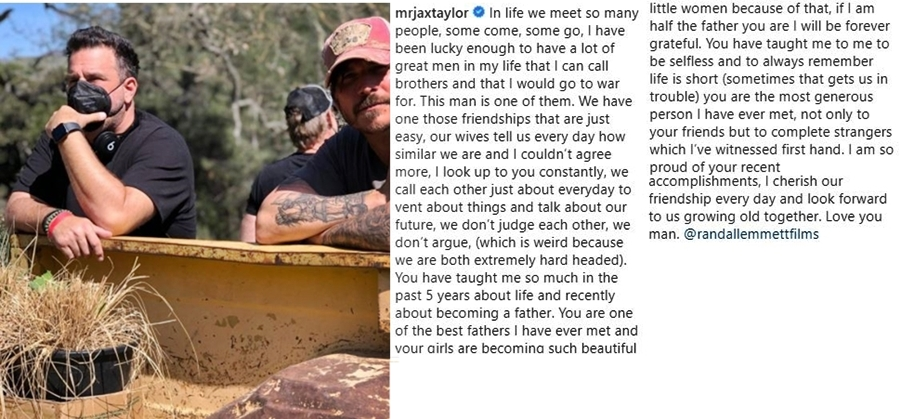 Jax Taylor Gives Randall Emmett A Massive Shoutout