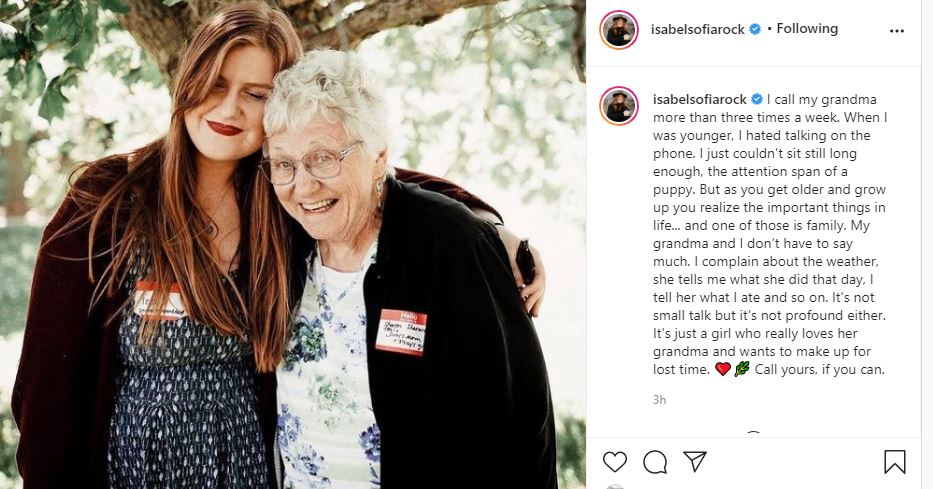 LPBW Isabel Rock Urges Fans To Call Their Grandma