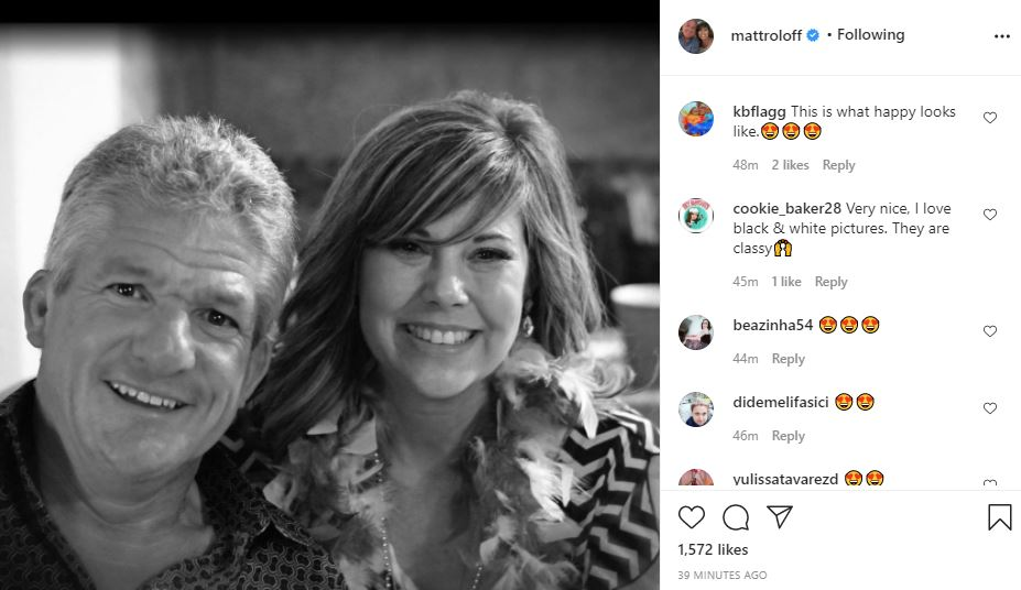Matt Roloff Shares A Photo - What Happy Looks Like