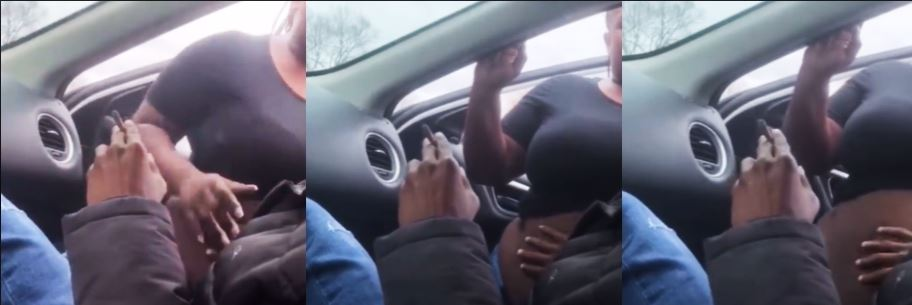 Michael Simmons Caught Rubbing Woman Down In Parking Lot