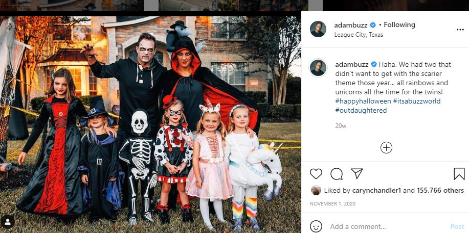 OutDaughtered Halloween 2020
