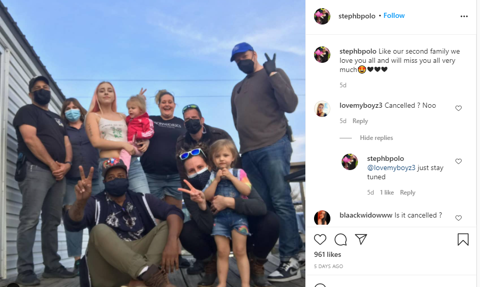 Rachel Beaver's Mom Instagram Post