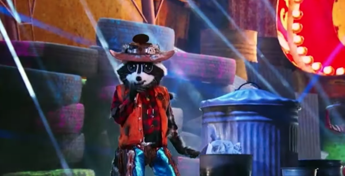 'The Masked Singer' Raccoon From Youtube