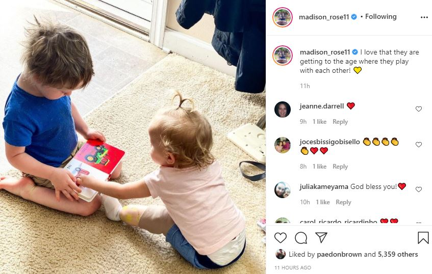 Sister Wives Star Maddie Shares Her Joy About Evie And Axel