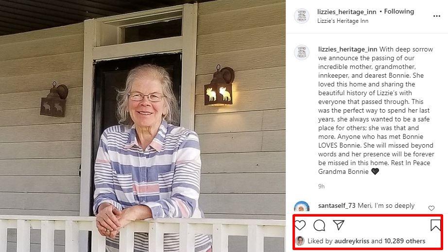 Sister Wives family responses Lizzie's Heritage Inn