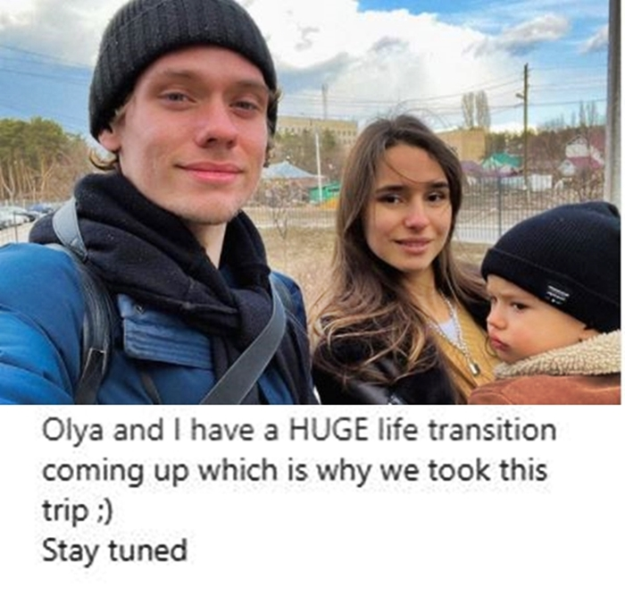 Steven Frend & Olga Relocating To Russia2