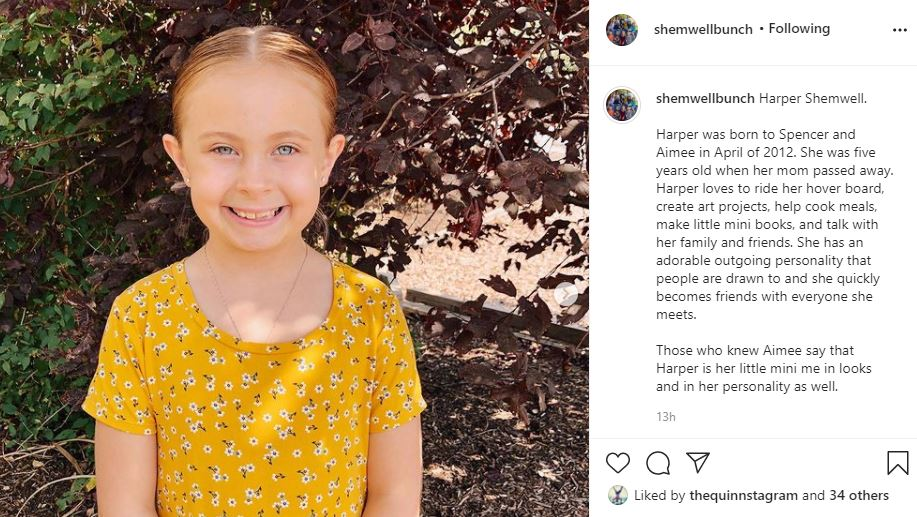 The Blended Bunch Get To Know Harper Shemwell
