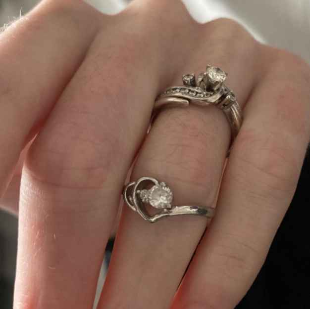 Breaking Amish LA alum Betsy Yoder's rings