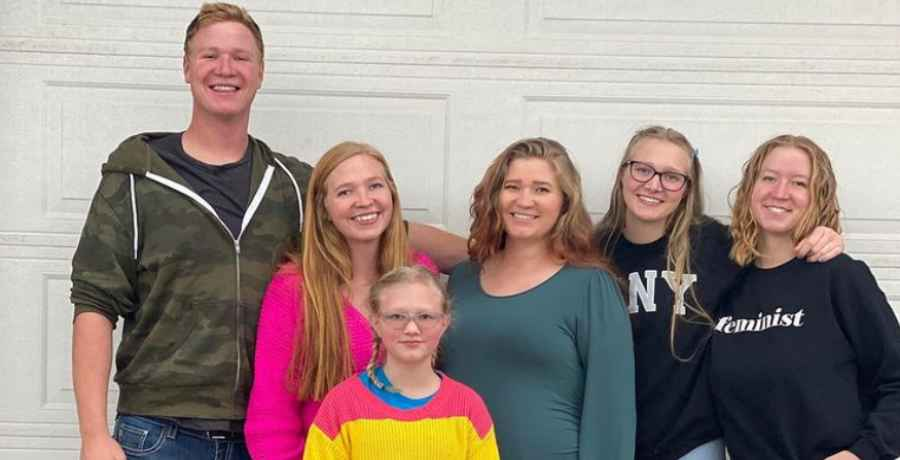 Christine Brown's children on Sister Wives