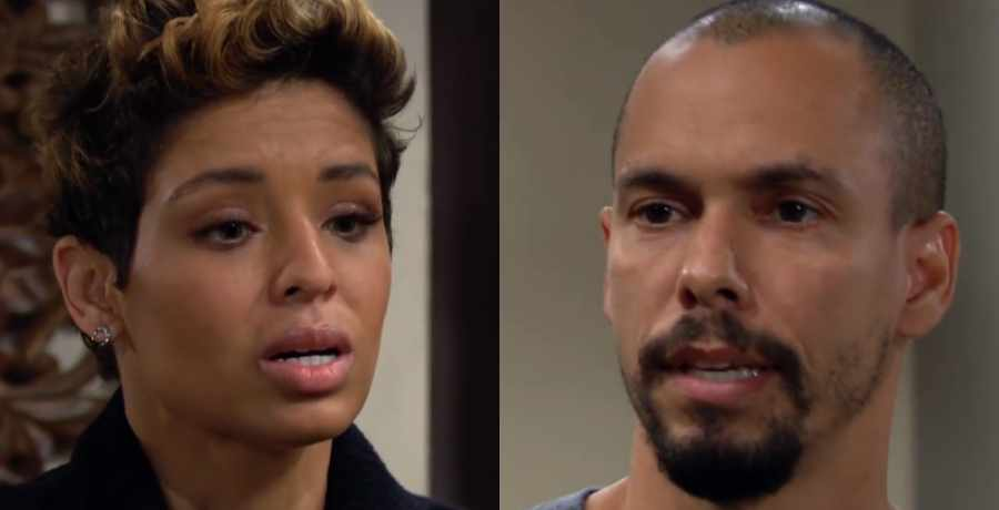 Elena and Devon on The Young and the Restless