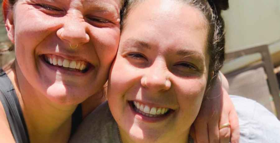 Mariah and Audrey of Sister Wives