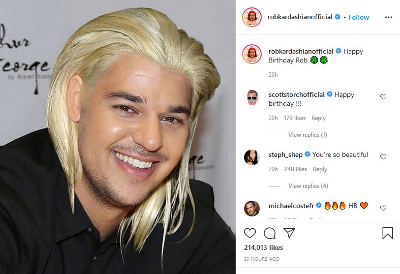 [Credit: Rob Kardashian/Instagram]