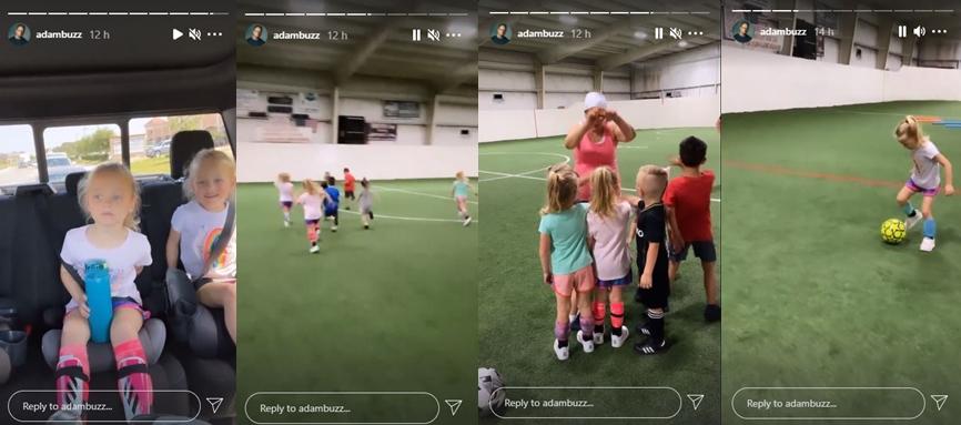 Adam Busby & The Non-Ballet Quints Enjoy Soccer Practice