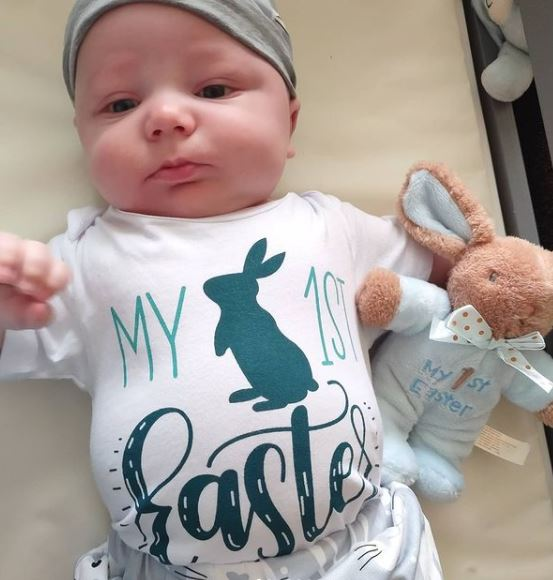 Amy Halterman's Baby Easter