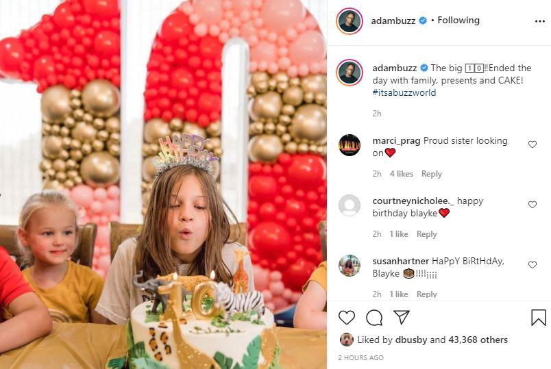 Blayke Busby's Birthday Celebrations End With Final Blowout Festivity