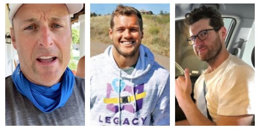 Chris Harrison, Colton Underwood, Billy Eichner/Instagram