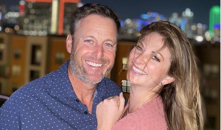 Chris Harrison and Lauren Zima Pic