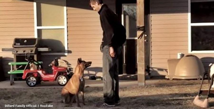 Derick & Jill Dillard Train Fenna Their Rescue Dog
