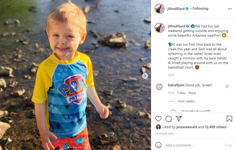 Israel & Sam Dillard Enjoy Outdoor Fun With Jill And Derick