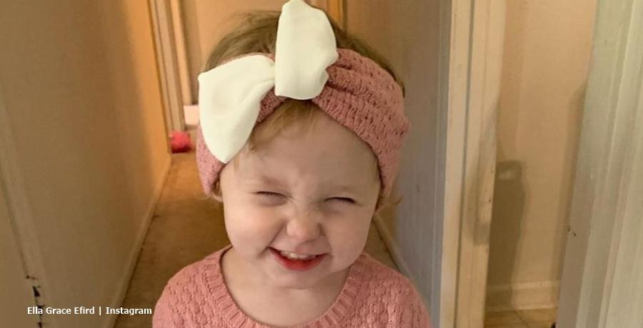 June Shannon's Grandchild Ella Grace