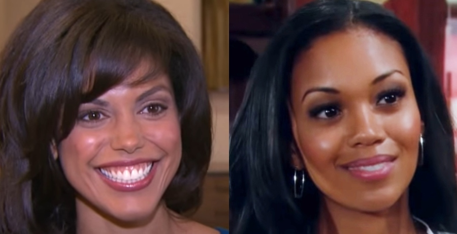 Karla Mosley Mishael Morgan The Young and the Restless