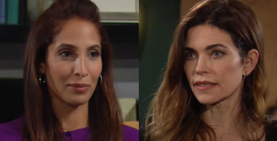 Lily and Victoria The Young and the Restless